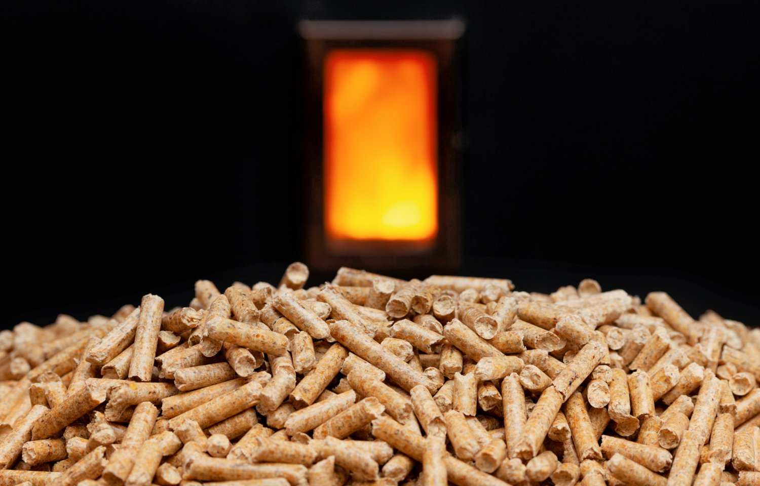 Fully Automated Wood Pellet Heating